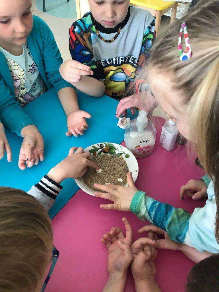Švarios rankytės – sveiki vaikai